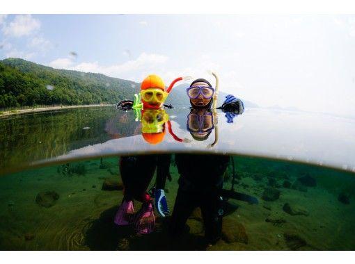 北海道 支笏湖ダイビング ・1名様より催行。午前2DIVE (午後からの参加2DIVEも可能)の紹介画像
