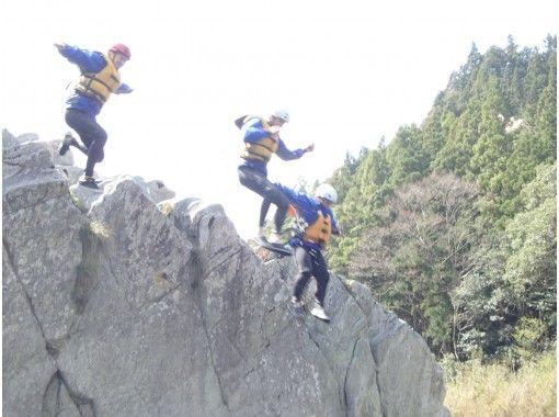 【四国・吉野川】激流体験!写真データ付き!吉野川ラフティング大歩危(おおぼけ)コースの紹介画像