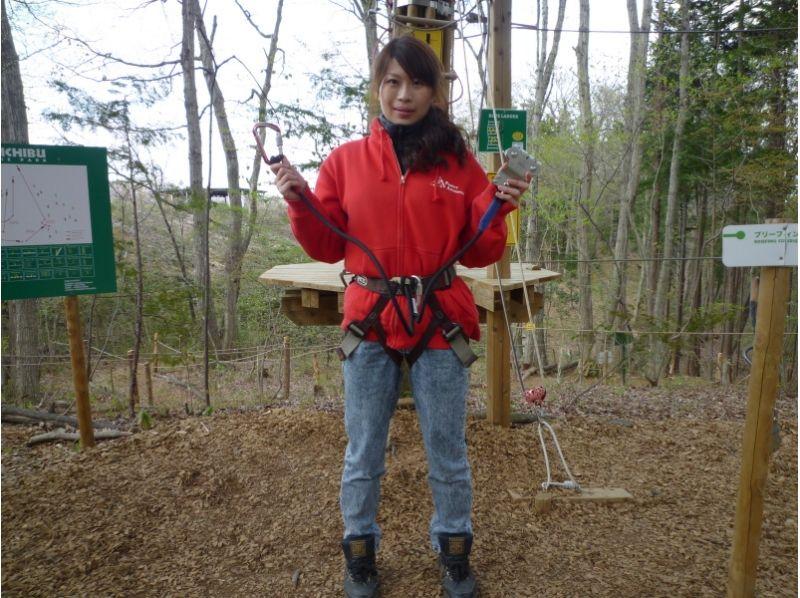 【埼玉・秩父】森を遊びつくす!フォレストアドベンチャー(アドベンチャーコース)の紹介画像