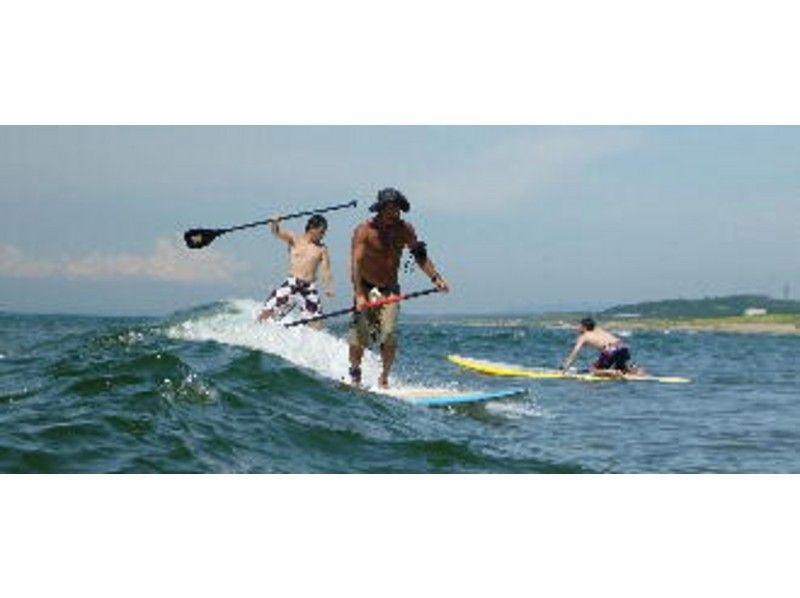 【石川・内灘海岸】SUP(スタンドアップパドルボード)体験スクールの紹介画像