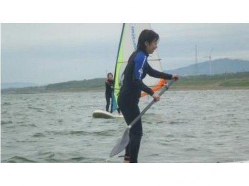 【石川・内灘海岸】SUP(スタンドアップパドルボード)レンタル