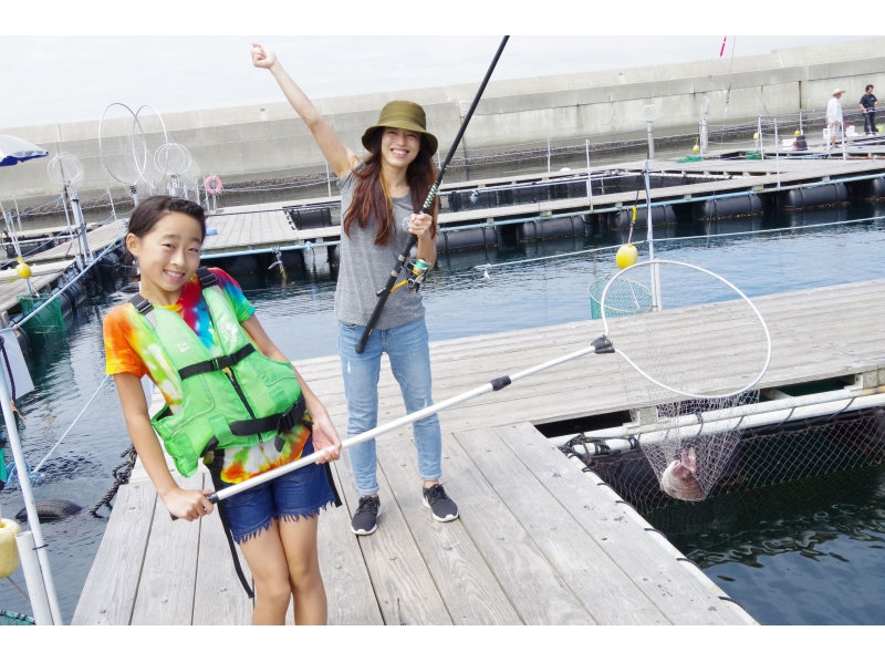 【Kanagawa · Miura】 Beginners and veterans are welcome! All-you-can-fish in a large Ikada at sea! ! Introduction image of