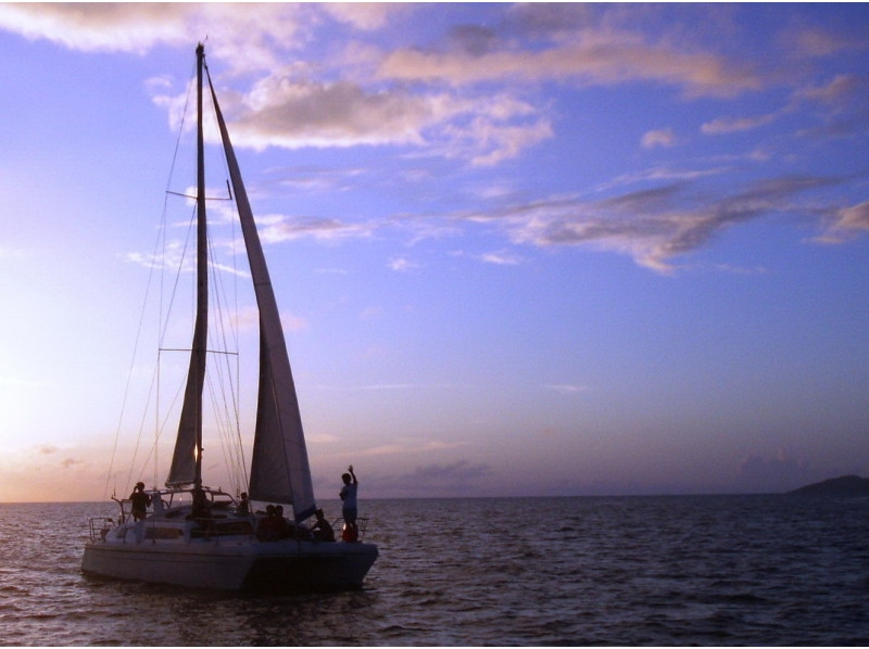 【沖縄・石垣】海の上で星を見よう!スターライトチャーターヨットコース【2時間】の紹介画像