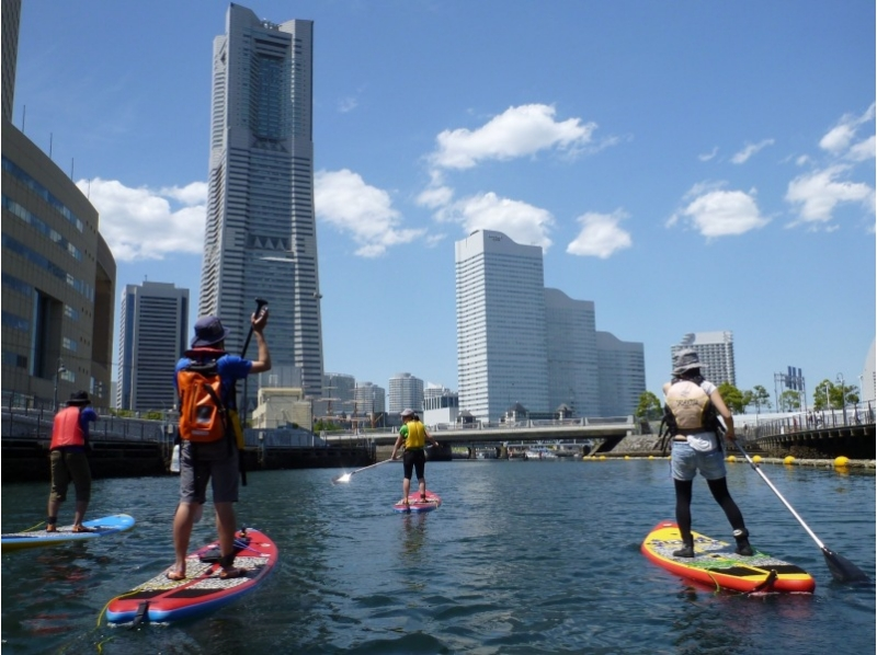 [Yokohama] does not matter young and old alike! Waterside of SUP beginner training cities more familiar! Introduction image of (2 hour course)