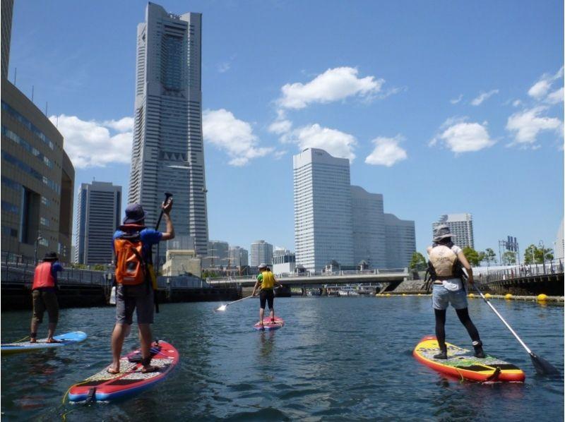【横浜】老若男女問いません!SUP初心者講習 都市の水辺がもっと身近に!(2時間コース)の紹介画像