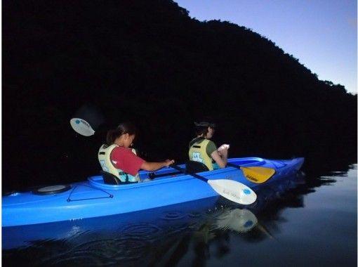 [沖繩西表瑪麗亞河海豚河]引導你的神秘世界!清晨秋花遊獨木舟の紹介画像