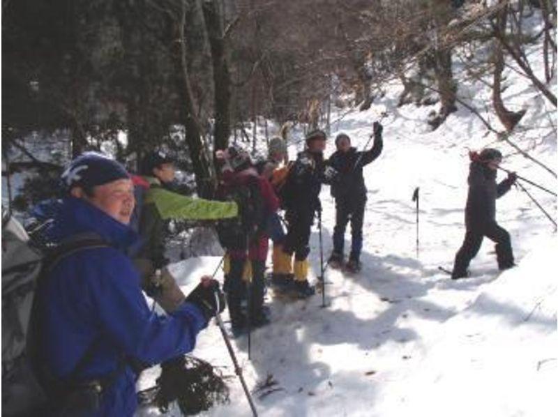 【鳥取・八頭郡】冬の白銀の癒しの世界へご案内!スノーシュー体験!(1日コース)の紹介画像