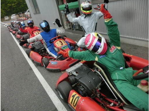 【 Aichi · Toyoda】 2 hours rental! Large number of race plan (5 or more carts)の紹介画像