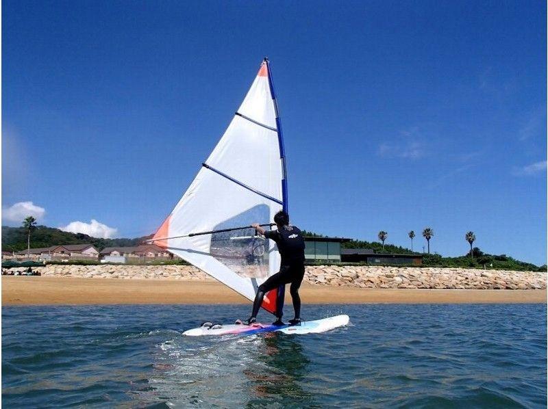 【宇部・下関】沢山遊べる!ウインドサーフィン体験(150分コース)の紹介画像