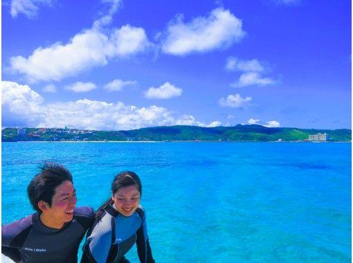 [沖縄繩恩納村]美麗海體驗深潛,輕鬆乘船!憲章制度♪★擁有漂亮的店鋪裝修設施(提供照片和動畫拍攝服務)の紹介画像