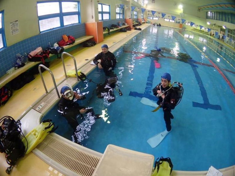 [License obtained in Tokyo Chiyoda-ku! ] Diver what this year debut! Of the Open Water Diver course introduction image