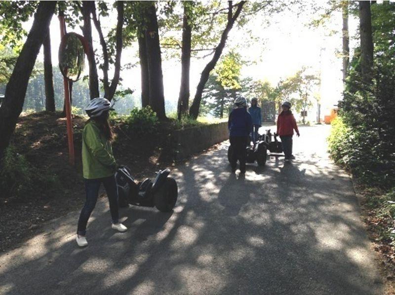 [Yamanashi Yatsugatake] a refreshing early morning Segway tour of the introduction image