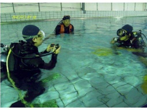 【鹿児島・下福元町】プールで少しづつ感覚を思いだそう!リフレッシュダイビング
