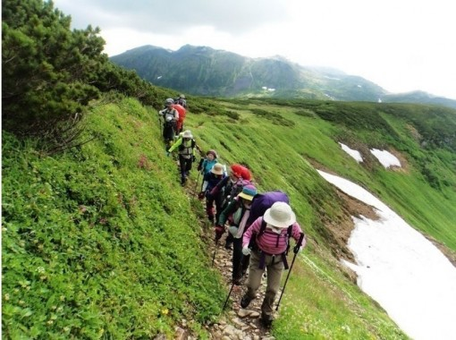 【北海道・百名山】沢登り(幌尻岳など)・縦走登山(トムラウシ山縦走など)から選択できるトレッキング!