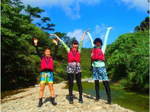 【沖縄本島・北部】ジュラシックワールドの世界、やんばるの森、リバートレッキング