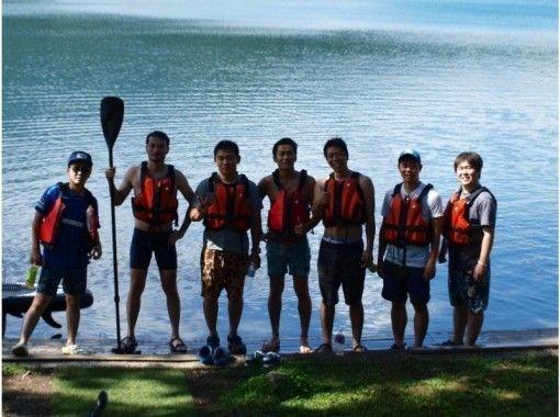 【長野・青木湖】長野県で一番の透明度を誇る、北アルプスの鏡、 青木湖で初めてのSUP(2時間)の紹介画像