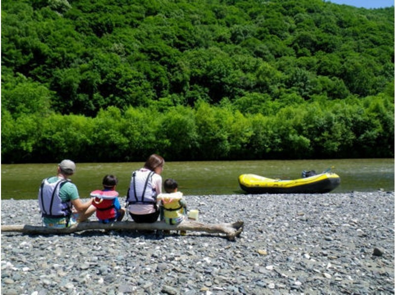 Introduction image of [Hokkaido Furano] rafting in leisurely down the river (charter Short Tour)