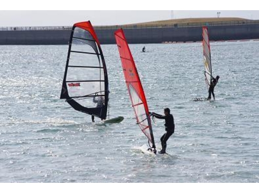 [Aichi ・ Chita: First of all, from here! Windsurfing experience (1 day course)の紹介画像