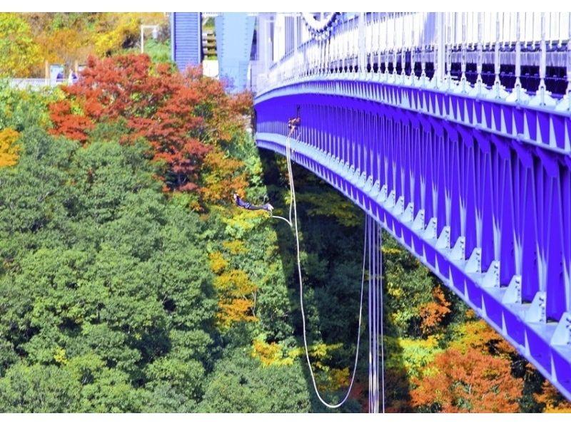 【茨城・竜神大吊橋】日本一の高さ100mからの絶景バンジージャンプ!竜神大吊橋「竜神バンジー」の紹介画像