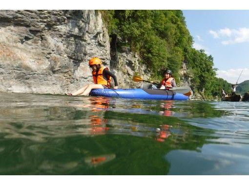 【埼玉・長瀞】初心者でもOK! 爽快、川下りにチャレンジ、ダッキーツアーの紹介画像