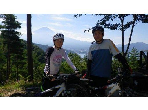 【山梨・河口湖】MTB(マウンテンバイク)体験・富士の麓でダウンヒルツアー