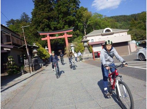 【山梨・河口湖】富士山世界文化遺産を巡る!ガイドサイクリング(MTB)お子様も一緒にどうぞ