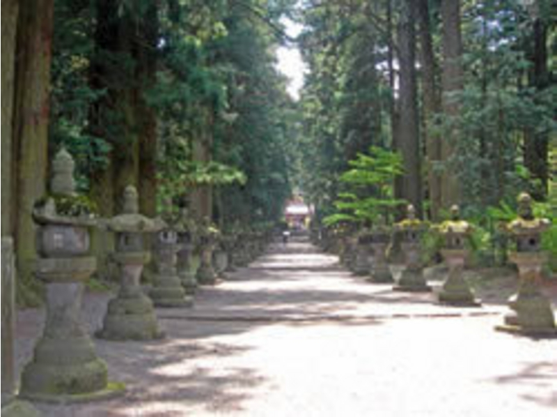 [Yamanashi Kawaguchiko] of Chaya guide Walk of Fuji faith-north exit Hongu Sengen Shrine in-introduction image