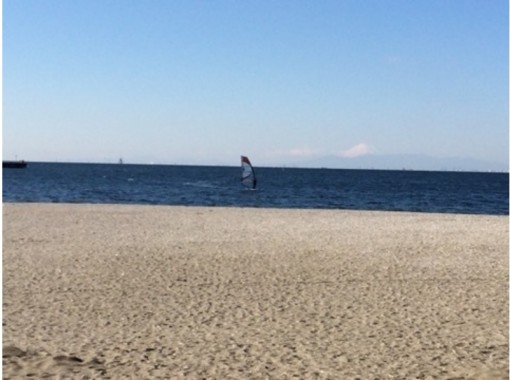 【千葉県・千葉市】自然を感じながらウインドサーフィン!半日体験コース!