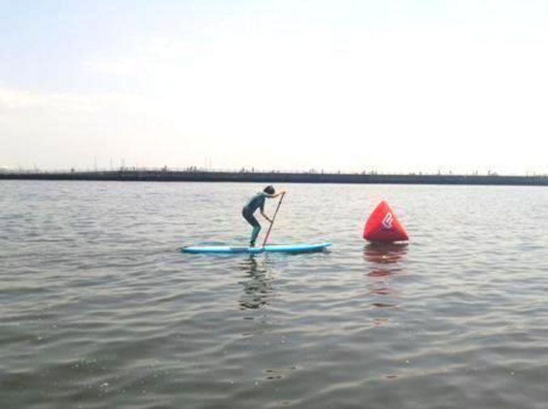 【千葉・稲毛海岸】海で楽しく過ごそう!SUPスクール体験コース!【2時間】の紹介画像