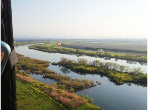 [Gifu/Ogaki area] Recommended for the anniversary! Hot air balloon 45 minutes private flight courseの紹介画像