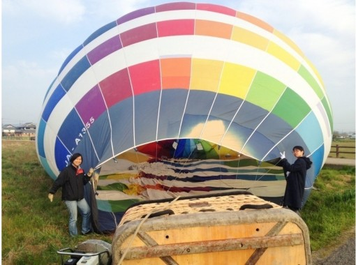 """[Hyogo Harima area] experience the """"feeling of floating"""" of the extraordinary! Hot-air balloon free flight courseの紹介画像"""