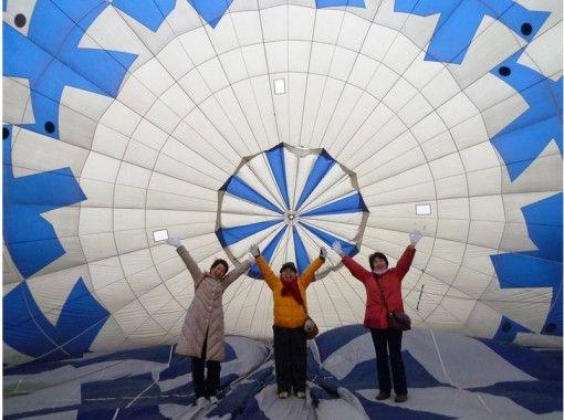 【長野・佐久エリア】非日常の『浮遊感』を体験!熱気球フリーフライトコース
