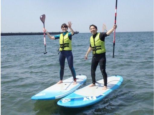 【千葉・稲毛海岸】もっとスキルアップしていきたい!SUPスクールステップアップコース!【2時間】
