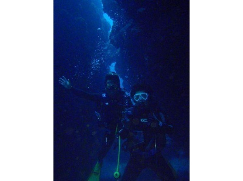 【沖縄県・宮古島】イチオシ!青の洞窟体験ダイビングの紹介画像