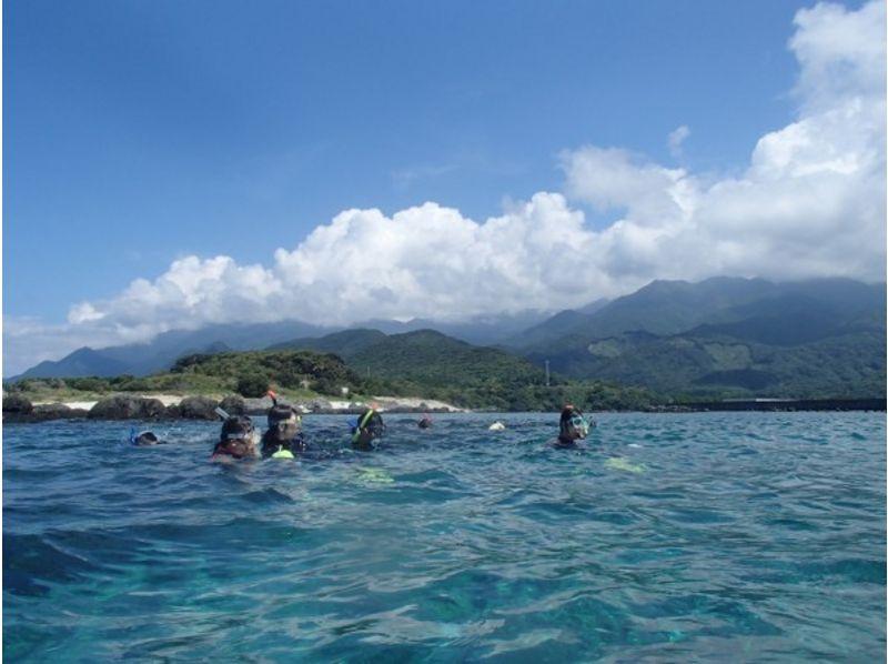 【鹿児島・屋久島】屋久島の、山以外の景色を味わいたい。自然遊びにおすすめスノーケリング(1日コース)の紹介画像