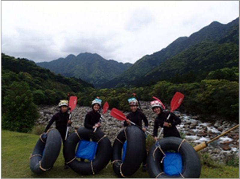 【鹿児島・屋久島】なかなか見ることのできない風景は格別!チューブラフティング(半日ツアー)の紹介画像