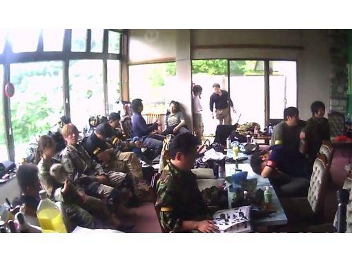 【長野・戸隠】廃旅館があるフィールドで遊び方無限大!貸切コース【サバイバルゲーム・1日】