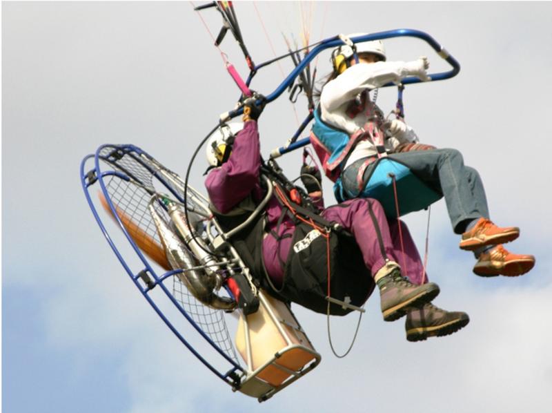 【湘南/茅ヶ崎】空を飛びたいその夢、願いを叶えます!パラグライダー体験(タンデムフライト)の紹介画像