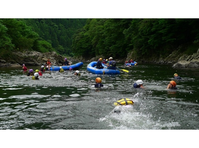 [Kyoto Hozu] rafting tour (1 day course) Introduction image