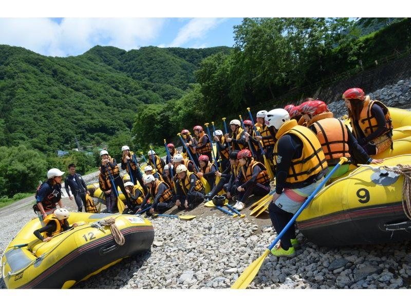 【群馬・水上】4~6月限定!ランチ付♪スリル満点 日本屈指の激流ラフティング (1日コース)の紹介画像