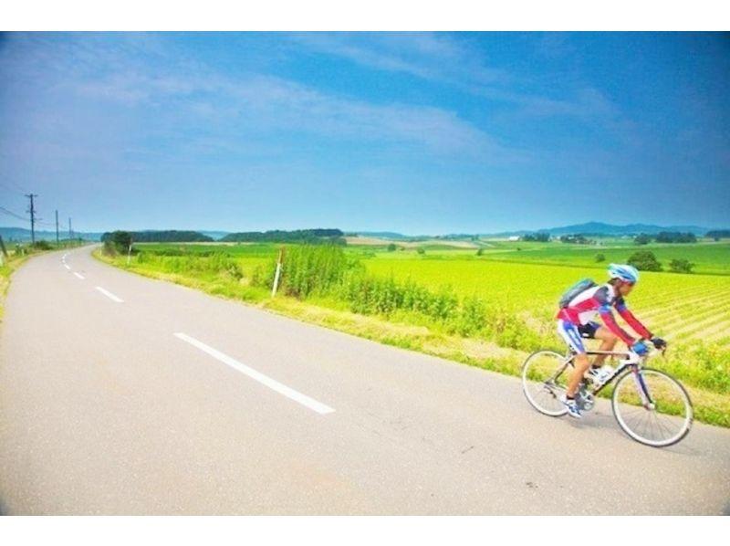 【札幌ロードバイク1日コース】四季それぞれの色彩を楽しむパレットの丘15~30km【市内送迎あり!】の紹介画像