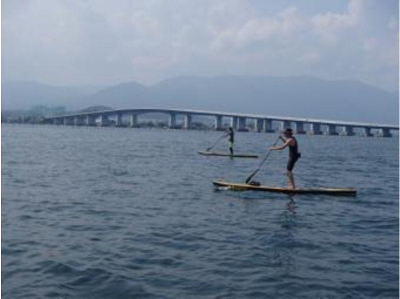 【滋賀 琵琶湖】びわ湖大橋の下をくぐるスイ~スイ散歩体験の紹介画像
