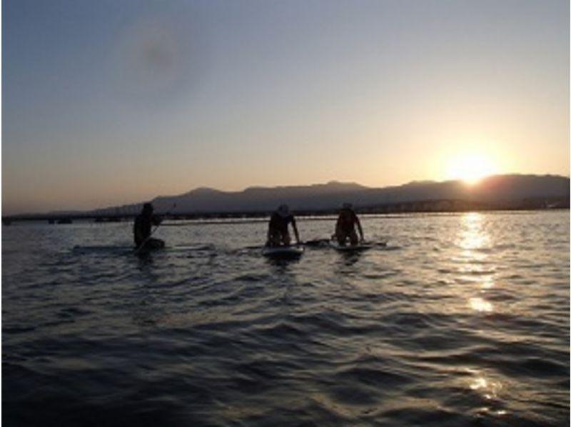 【滋賀 琵琶湖】びわ湖上から綺麗な夕日みて日常を一時忘れてみませんか。の紹介画像