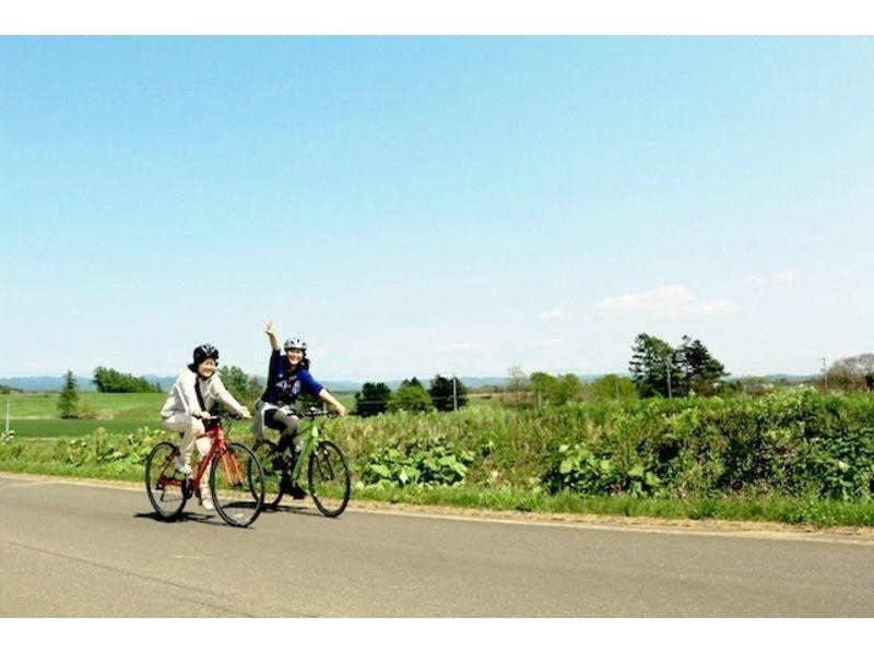 【札幌ロードバイク1日コース】北の大地長沼田園20km~【市内送迎あり!】の紹介画像