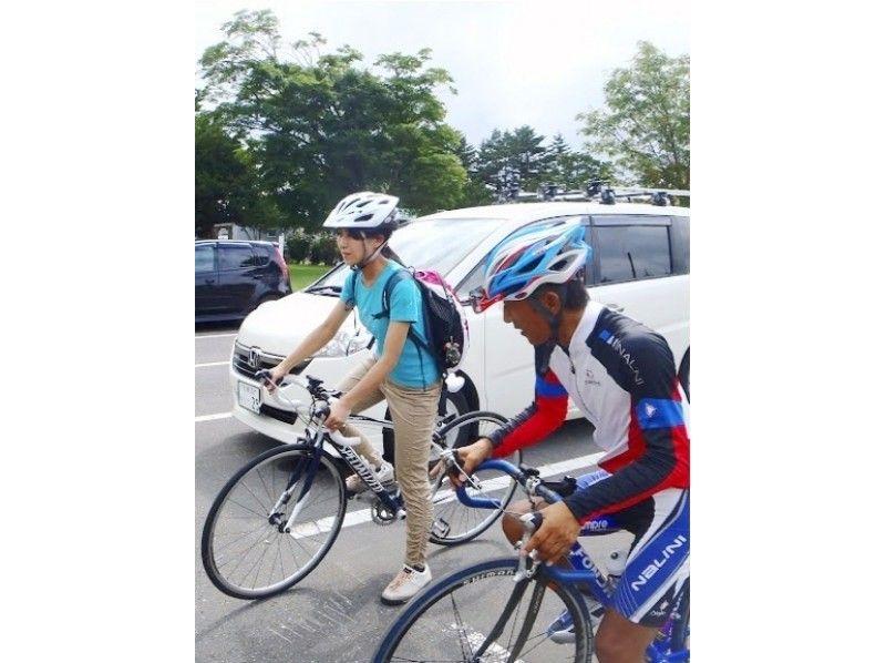 【札幌ロードバイク1日コース】石狩平野を見おろすマオイの丘巡りサイクリング+ハイジ【市内送迎あり!】の紹介画像