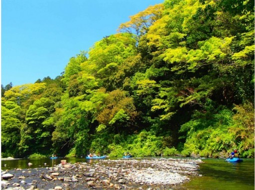 [Tokyo-Tama River] 2 seater Ducky boat rafting Experience tour (half-day Course) with photo data ☆の紹介画像
