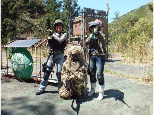 【香川・高松】日帰りコースで、サバゲーを思う存分楽しむ!の紹介画像