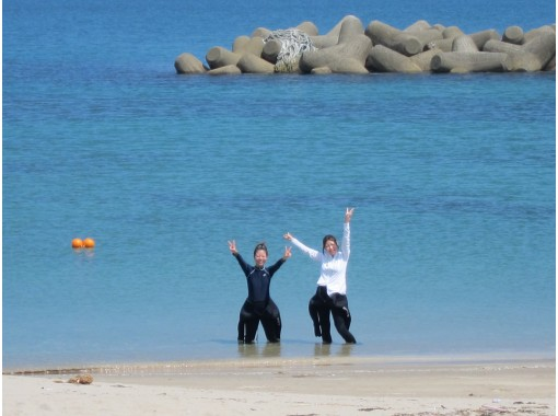 【島根 日帰り体験ダイビング】『広島駅発』一番近くの奇麗な海で、じっくり2本ダイビング!の紹介画像