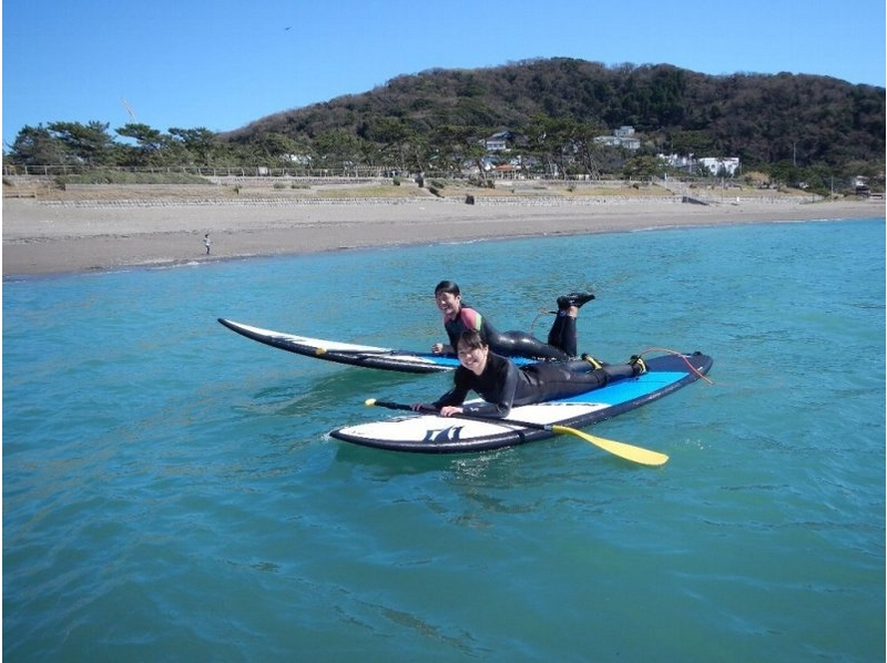 [Kanagawa, Hayama] SUP pair & family experience course! Introduction to image
