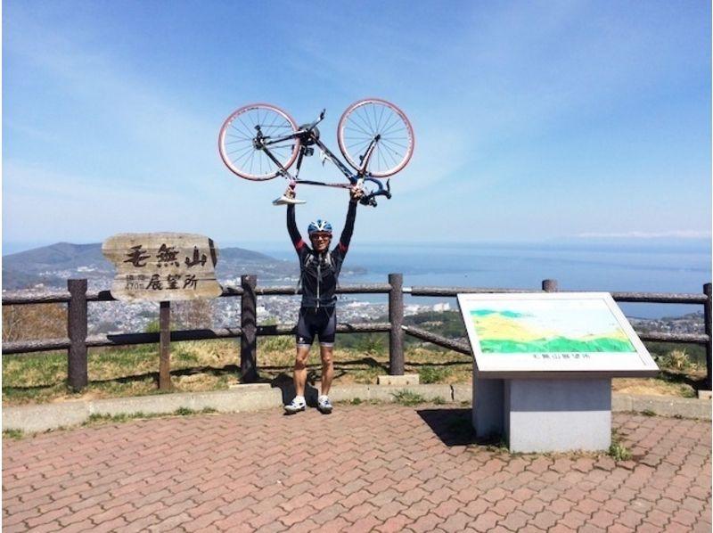 【札幌ロードバイク1日コース】小樽から毛無峠越え余市フルーツ街道、シーサイドを走る【市内送迎あり!】の紹介画像